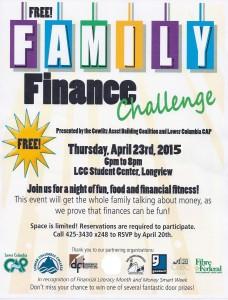 Family Financial Literacy Night
