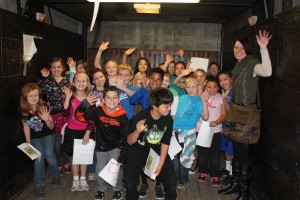 3rd graders from Butler Acres Elementary School toured Help Warehouse on Tuesday.