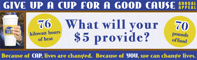 What will your $5 provide?