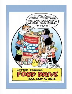Postal Workers Food Drive