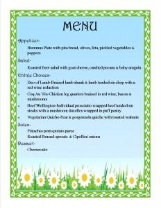Spring Dinner Menu-1